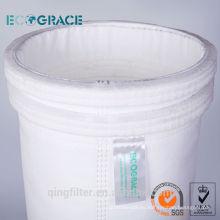 PPS filtro de tela no tejida filtro de polvo bolsa de filtro de bolsa