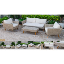 KANARISCHE KOLLEKTION - Neuestes meistverkauftes Poly PE Rattan Sofa Set für Outdoor Gartenmöbel