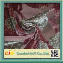 Imitated Cut Pile Sofa Tissu avec brosse Warp-Knitting Shsf04689