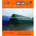 Maßgeschneiderte PVC-gefüllte Planen für Warenabdeckung