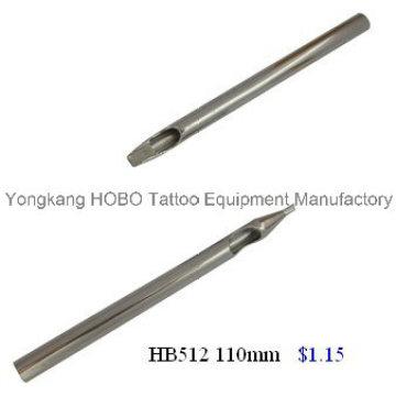 A melhor agulha de aço inoxidável longa da tatuagem da venda derruba produtos