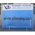 Road Safety Barrier Zaun / Metall Crowd Control Barrieren / Hot Verkauf China Made Galvanized Crowd Control Barrieren