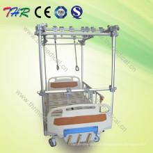Cama de tração ortopedia manual de 3 manivelas (THR-TB321)
