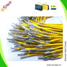 Yellow Elastic Handbag Cord handbag Rope