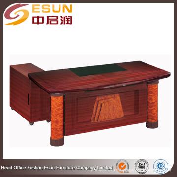 2016 Fábrica de Foshan muebles de oficina populares de la oficina popular en forma de L diseño de mesa de oficina