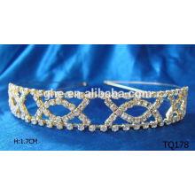 Neue Art und Weisegroßverkauf Rhinestoneglitter elastisches Haarband