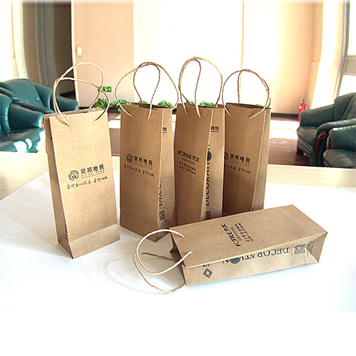 Kraft Bags with Handles