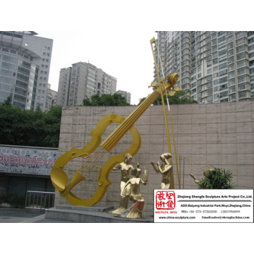 Superb Modern Stainless Steel Sculpture