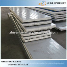 Auto Aluminum EPS&Rockwool Sandwich Roofing Panel Cold Roll Forming Machine