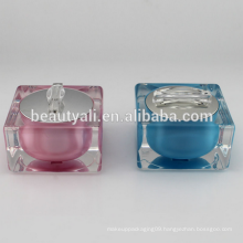 Square BB Cream Acrylic Jar For Packaging 10ml 30ml 50ml