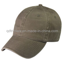 Blank Washed Cotton Twill Leisure Sport Baseball Cap (TRNB020)