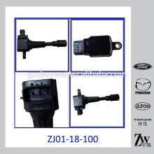 Bobina de ignição do motor da parte de automóvel para Mazda / FOR (D) OEM # ZJ01-18-100