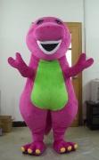 barney mascot costume