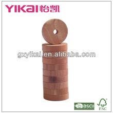 ceder blocks effectively absorbs moisture
