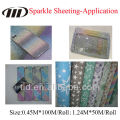 High Quality PVC Reflective Sparkle sheeting