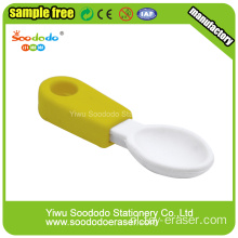 Spoon Eraser Creative mini gum briefpapier