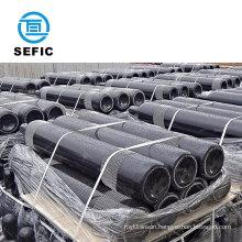 Trustable Supplier ISO9809-3 40L 150bar Seamless Steel nitrogen gas cylinder price