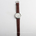 Fashion quartz men watches import watch movement, stainless steel back watch