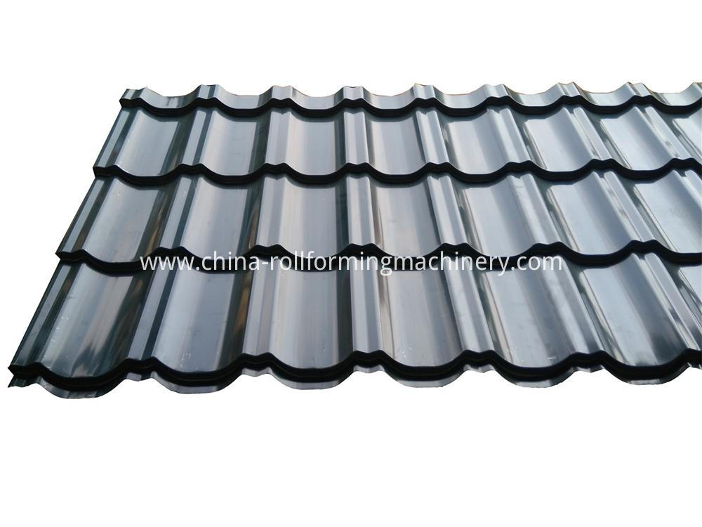 Steel Glazed Roof Yile