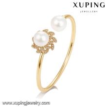 51730 xuping ювелирные изделия двойной жемчуг женщины золото браслет для продажи