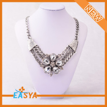 Factory Wholesale Heavy Necklace Set Hot Selling Crystal Inlay Necklace