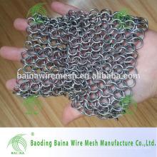 Filtro de aço inoxidável esquadra de ferro fundido de aço inoxidável / esfregador de grade