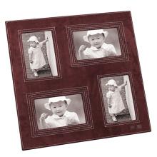 Leder Fotorahmen mit mehrfacher Öffnung