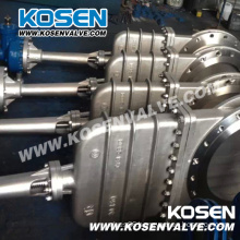 Non Rising Stem Knife Gate Valve (PZ43)