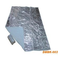 Спасательное одеяло с ПЭТ-пленки и нетканые ткани