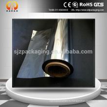 36mic Высокоглянцевая и высоко отражающая майларовая пленка, металлизированная ПЭТ-ПЛЕНКА, полиэфирная пленка