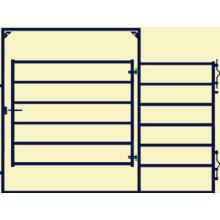 Porte de panneau de clôture HDG Panel