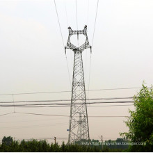 Cat Head Type Anglular Power Transmission Tower (500kv)