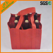eco reusable bottle pp non woven wine bags