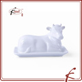 ceramic cow shaped butter dishes