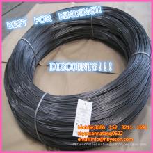BWG 22 Черный отжига MS мягкой привязки железной проволоки завод проволоки