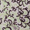Elegant Two Tone Embroidery On Korea Mesh Fabric