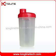 700ml Plastic Protein Shaker Bottle with Filter (KL-7027)