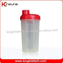 Garrafa protetora de proteína de 700 ml com filtro (KL-7027)