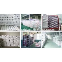 China Los proveedores poliéster no tejido que interlinea para las materias textiles hechos por el chorro de agua asoman en China fábrica
