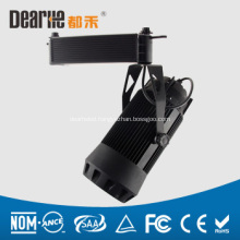 cob led track light for clothing shops 30/35w ac110-265V