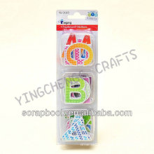 single letter kids removable chalkboard sticker