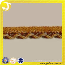 New Curtain Braid Gimp Trim with beautiful ornament for Sofa,Pillow,and Home Textile Decoration