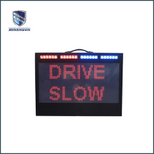 electronic led flashing aluminium traffic signs and symbols
