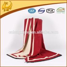 2015 Novo Custome Design Sólido de cor sólida Sentimento e preço barato 100% algodão Pashmina Shawl Scarf