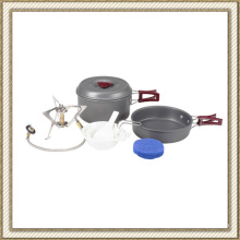 Lightweight Outdoor Camping Hiking Backpacking Two Person Cooking Picnic Cookware