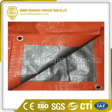 Orange PE Tarp Poly Tarp Tarpaulin Sheet