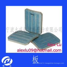 Plaque balistique NIJ III NIJ IV plaques anti-balles DC3-5