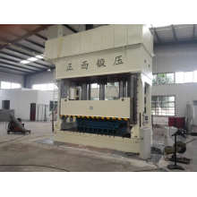Machine hydraulique de presse d'emboutissage profond de cadre de H 1500 tonnes