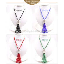 2015 NK007 Crystal Tassel Sweater Chain Graceful Sweater Chain Stone Long Style Sweater Chain