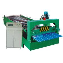 Máquina formadora de telhas metálicas para telhado